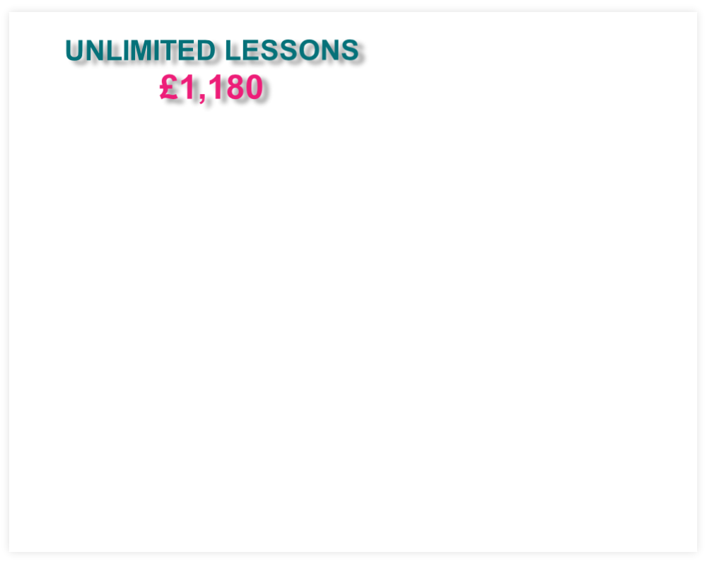 UNLIMITED LESSONS